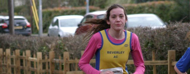 Cross Country Prizes For Beverley Juniors