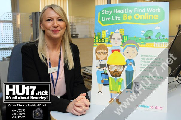 Online Access At Beverley Jobcentre Has Positive Impact On Local Community