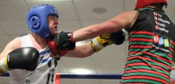 Matthew Milnes said he was delighted after he won his charity boxing match at the KC Stadium. Milnes pulled on the gloves and stepped into the ring to help raise money for Life for a Kid Foundation.