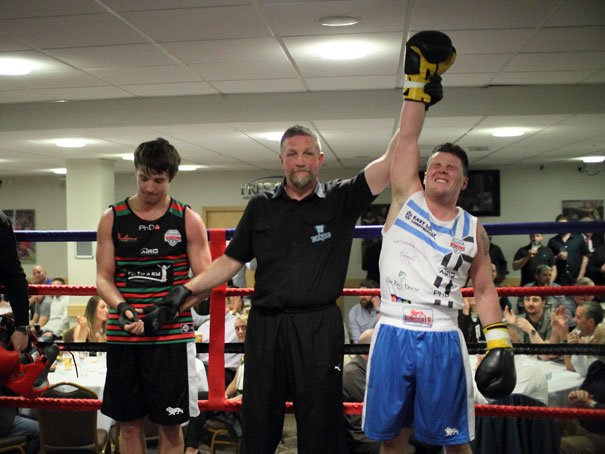 Matthew Milnes Delighted With First Appearance in the Ring