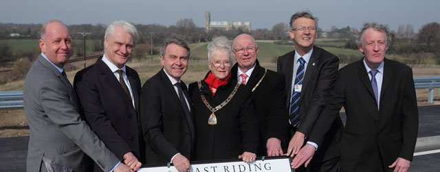 Beverley's Southern Relief Road Officially Opened