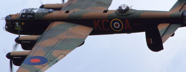 Lancaster Bomber To Perform Fly Past at Beverley Armed Forces Day