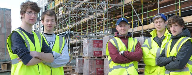 Construction Students' Insight Into New Beverley Campus