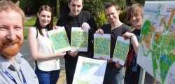 Media students at East Riding College have developed a treasure hunt for the digital age as part of Beverley's Tour de Yorkshire celebrations.