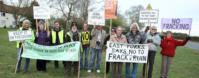 Anti-Fracking Protesters Continue To Make Their Voices Heard