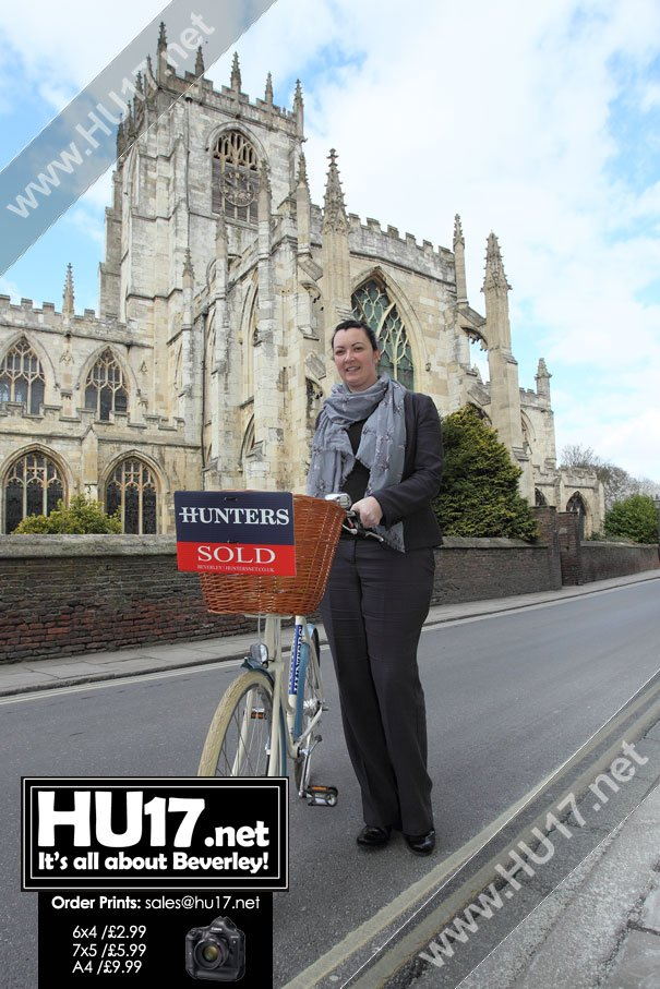 Hunters Estate Agents To Get On Their Bikes in Aid St Mary's Church