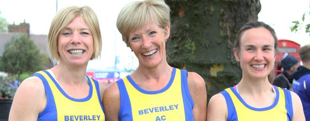 Great Beverley Performances At The London Marathon