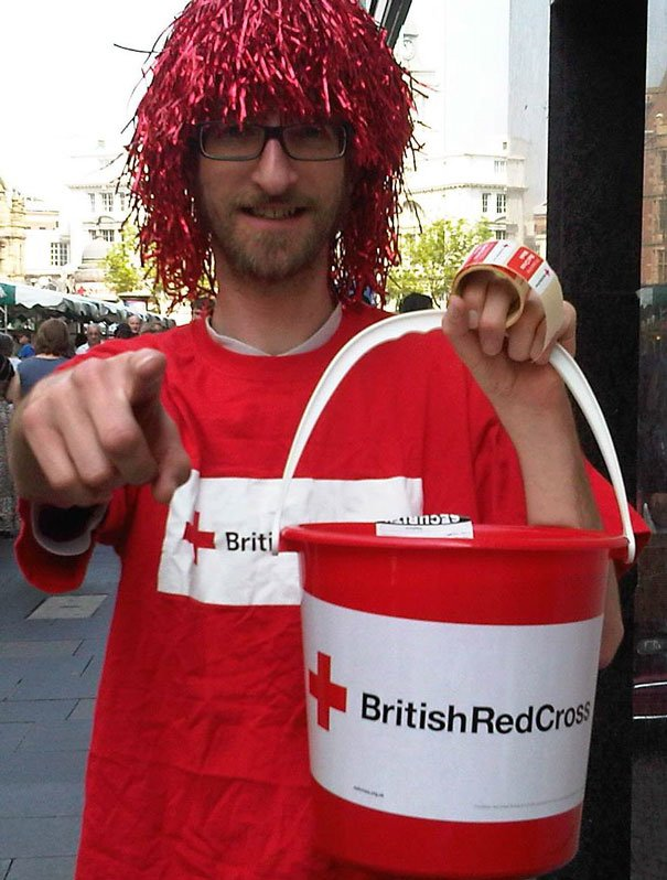 Wanted: Yorkshire Folk To Raise Buckets Of Money For The British Red Cross