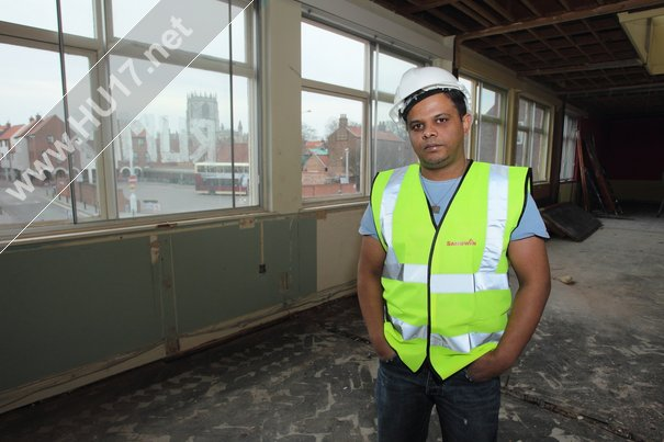 Construction Work is Going To Plan Say New Indian Restaurant Owners