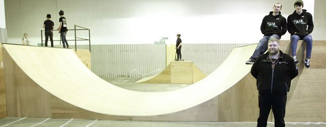 Indoor Skate Park Provides Safe Friendly Atmosphere for Young People