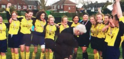After seven Successful seasons Mill LaneUnited Yellows played their final game in junior football in the U16 Girls East Riding County Cup Final.