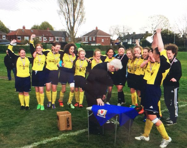 Mill Lane United Yellows End Their Junior Days On A High