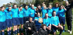 Mill Lane United Yellows U16 Girls turned on the style in a 9-0 victory against Hessle Town to win their 7th Successive East Riding Girls Football League title.