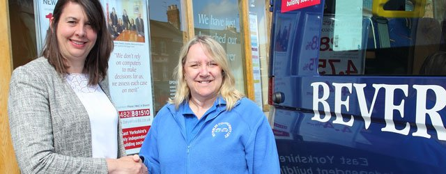 Beverley Building Society Jump on Board With Community Transport Scheme
