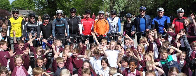Pupils Set Benefit After 12 Riders Complete Minster Monster Bike Ride