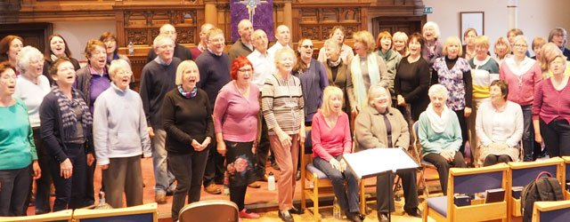 Beverley Community Choir Hit All The Right Notes