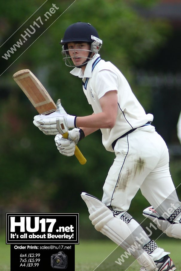 Half Century From Gregory Whyley Not Enough As Beverley Draw