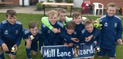 Mill Lane Wizards u13's won their 2nd tournament in a week following up on their York RI success by adding the Poppleton Juniors tournament.