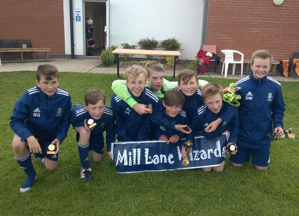 Mill Lane Wizards Win Poppleton Juniors Tournament