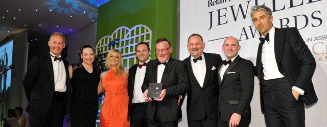 Hugh Rice Wins Coveted UK Jewellery Award