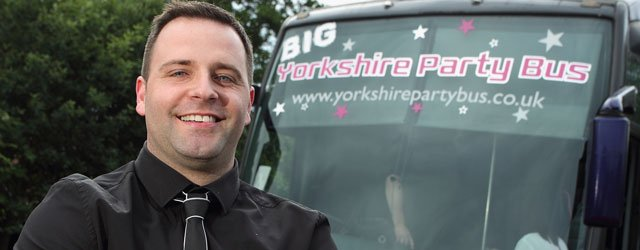 GALLERY : Yorkshire Party Bus - Longcroft Y11 Prom