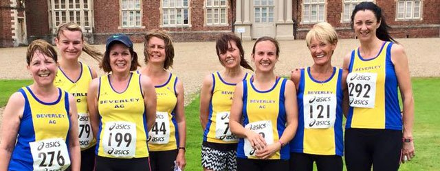 Beverley's Ladies Stretch Their Legs at all New Burton Constable 10k