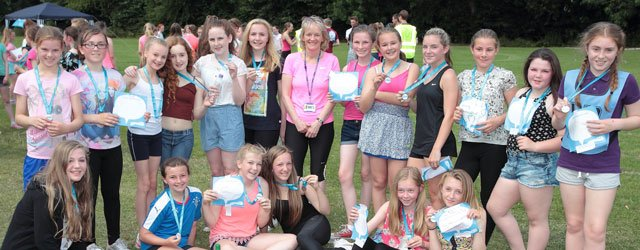 Beverley High School Participate in Race for Life