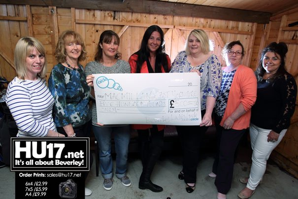 Beverley Ladies Circle Raise Hundreds of Pounds for Macmillan