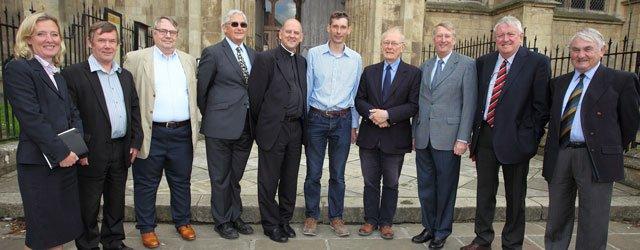 New face at Beverley Minster, Huge Challenge