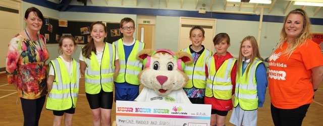 Courage The Cat Visits St Mary's Primary School