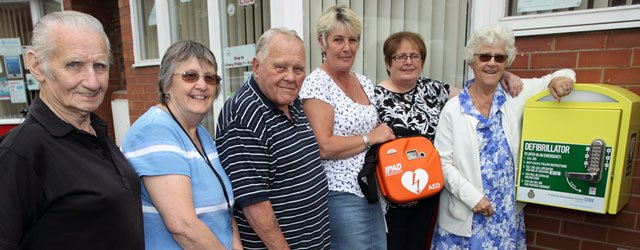 Two Defibrillators Installed on Swinemoor