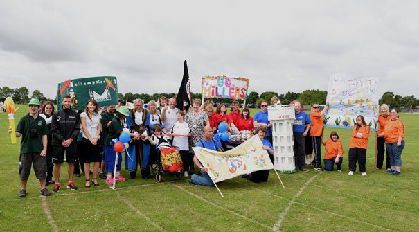 Sports Event For Day Services Is A True Olympic Legacy