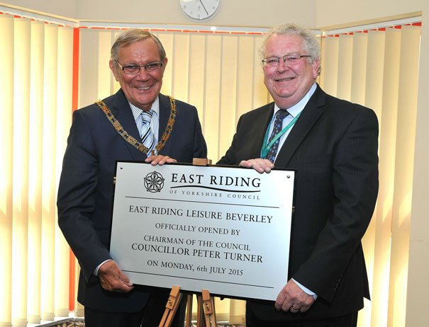 East Riding Leisure Beverley Officially Opened