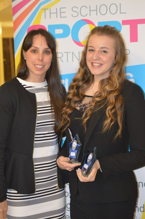 Holly Bentham Scoops Two Awards For Sporting Achievements