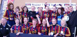 Mill Lane United Yellows girls football team created history in their final tournament together when they retained their National title for a third successive year.