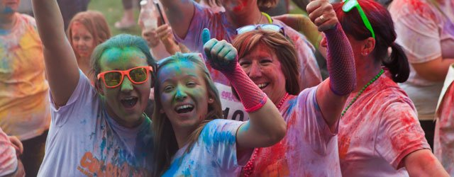 Dove House Hospice Colour Run - Sign Up Now!