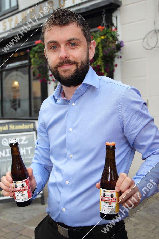 Snuffles Dog Beer Sold at The Royal Standard Beverley