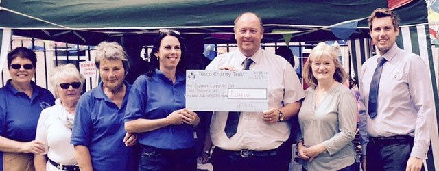Beverley Community Lift Receives Donation From The Tesco