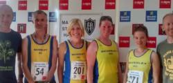 Ten Beverley AC runners took on the Major Stone Half Marathon around the village of Lockington last weekend.
