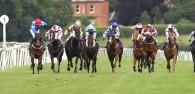 BEVERLEY RACES : Waterclock In Full Flow