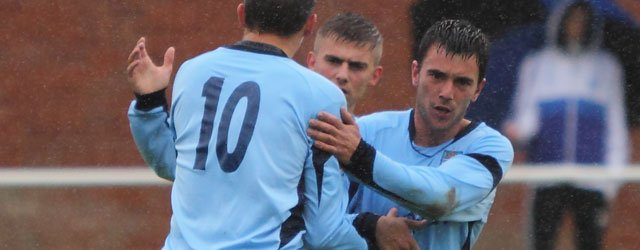 Winning in the Rain : Beverley Brush Aside Hornsea at Norwood