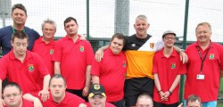 Millers Day Centre finished second in a football tournament held at Longcroft Croft. The competition, which was won by the team from Bridlington