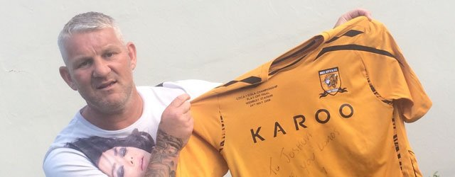 Play-off Final Shirt Worn By Dean Windass Up For Auction