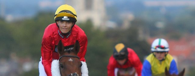 Victoria Pendleton Appears at Beverley Races
