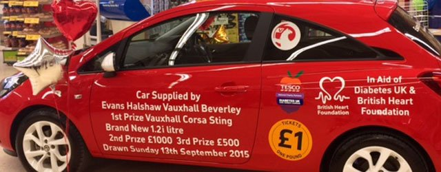 Tesco Beverley Raises Thousands Of Pounds For Good Causes