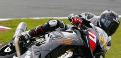 Beverley rider Dominic Usher was competing at Silverstone in the penultimate round of the National Superstock 1000 championship,