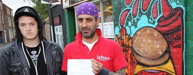 La Perla Told By Council That 'Graffiti Has To Go'