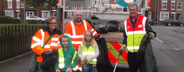 Litter Pick Held Tesco Hailed A Success