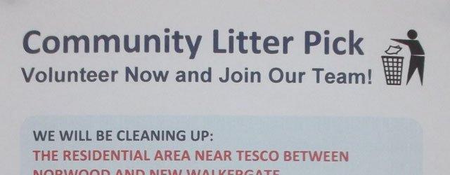 Tesco Beverley Co-Ordinates Community Litter Pick