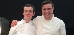 Two of the county's youngest professional chefs found themselves head to head in the final of the Copper Saucepan competition at Beverley Food Festival on Sunday.